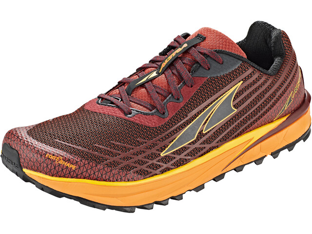 Altra Timp 2 Trail Running Shoes Men, dark red/orange